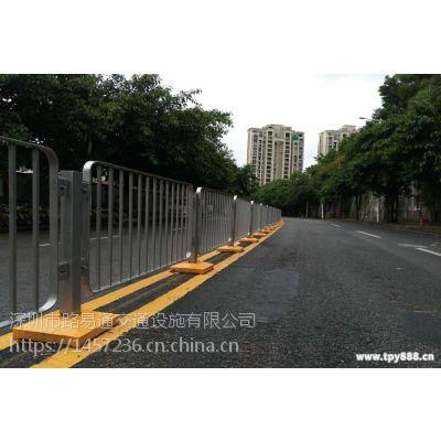 深圳城市道路中央隔离护栏,甲型锌钢,公路,深标护栏