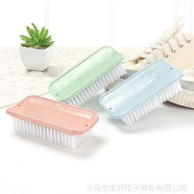 2485 塑料软毛洗衣刷清洁刷洗鞋刷 刷鞋洗衣服的刷子板刷鞋刷子