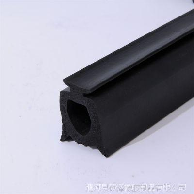 EPDM发泡密封条 圆形方形海绵发泡防水胶条 垃圾车密封条量大优惠