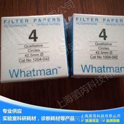 GE whatman沃特曼4号定性滤纸Grade4定性滤纸