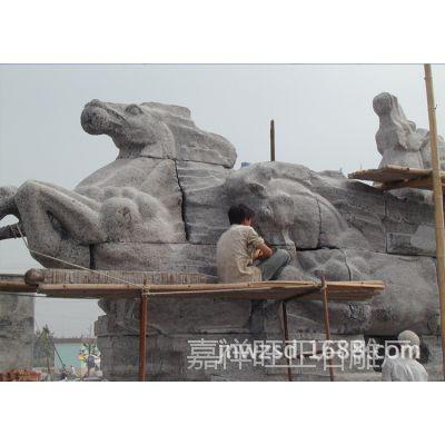 汉白玉石雕马报价 晚霞红石材马雕塑哪里卖