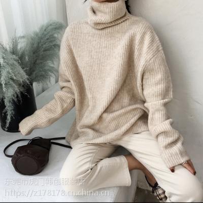 去广东哪里批发库存尾货毛衣工厂地摊秋冬毛衣便宜时尚毛衣哪里有尾货处理