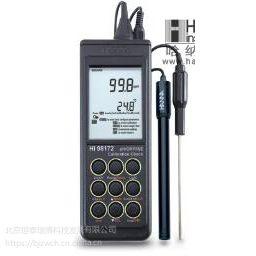HI98172旧型号:HI98172N 微电脑酸度pH-氧化还原ORP-离子浓度ISE-温度°C