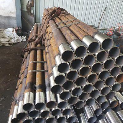 注浆管 隧道用小导管 超前支付管 20号钢花管厂家
