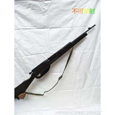 影视道具 木质机关枪 木质冲锋枪AK47 舞台剧表演用品