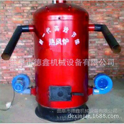 养蘑菇木耳增温设备 自动控温燃煤热风炉 多型号螺旋管暖风炉
