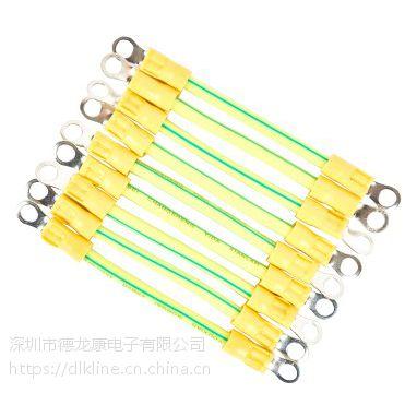 光伏接地线黄绿BVR双色光伏板接地线2.5平方太阳能光伏组件接地线