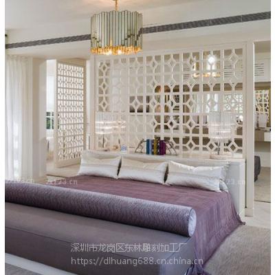 杭州雕刻厂家专业定制家居板艺术造型通花板精致镂空板