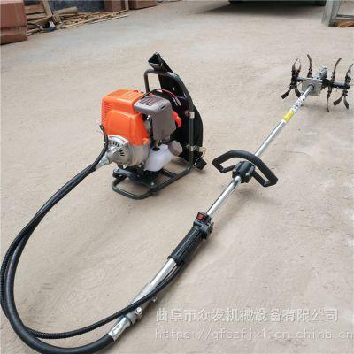 小麦汽油背负式割草机 新款斜跨式割草机 二冲程汽油除草机