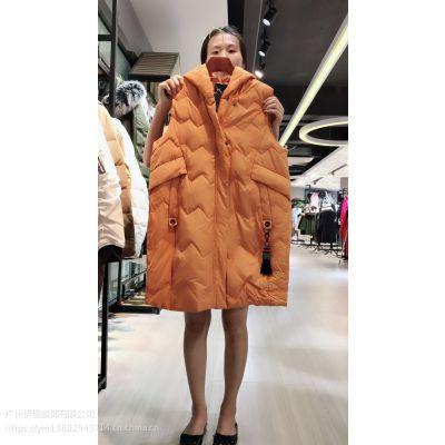 一线大牌洛芙丽羽绒服,品牌折扣女装 羽绒服货源批发一手货源库存女装批发