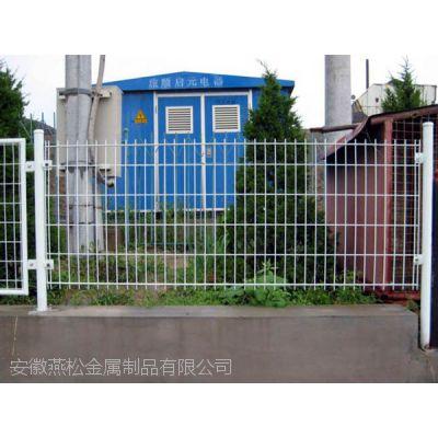 岳西双边丝护栏网 球场围栏 园林围栏 养殖围网 市政护栏网小区隔离网 草坪PVC护栏