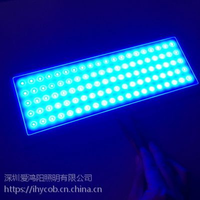 三色COB光源警示灯3w 5w 3v 2vled灯珠 尺寸 形状定做12v 24v警示灯
