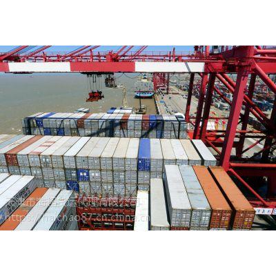山东青岛到广东汕头海运集装箱门到门运输费用