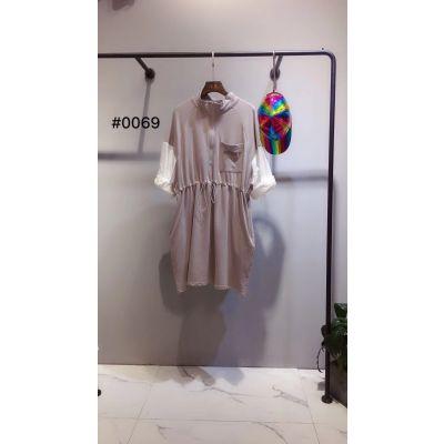 潮牌达拉达时尚潮流韩版女装T恤连衣裙品牌女装折扣店货源