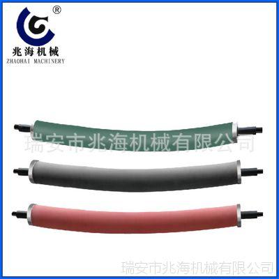 兆海胶辊定做 硅胶辊 耐高温压辊 工业橡胶辊 弧形胶辊厂家直销