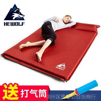 自动充气垫防潮垫户外加厚睡垫帐篷双人充气床垫单人露营午休垫