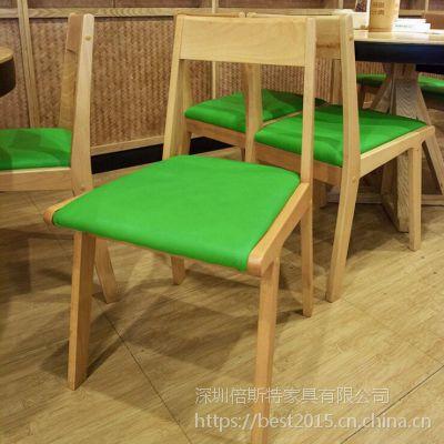 倍斯特简约现代实木餐桌创意中餐西餐湘菜厂家定制