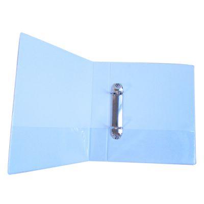 2孔D型夹 三插袋PVC面电压纸板文件夹 牛湖宝湖打孔夹