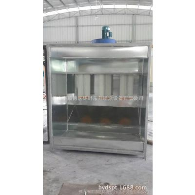 厂家直销 喷粉柜 静电喷粉柜  粉末回收系统 物优价廉