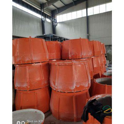玻璃钢雨水井管道观察井 玻璃钢通信检查井预埋井 有更好的技术性能和实用性 品牌华庆