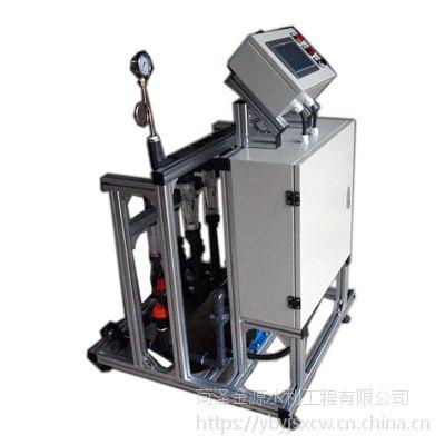 邢台威县蔬菜温棚滴灌系统 传感器控制智慧全自动灌溉施肥机