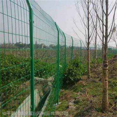 1.8*3米铁丝网围墙护栏A河北优盾铁丝网围墙厂家A绿色铁丝网围墙护栏定制