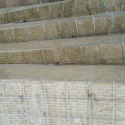 钢网插丝憎水岩棉复合板90公斤厂家地址