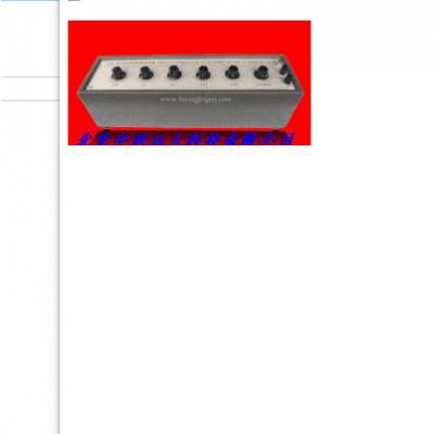 中西 十进电容箱 型号:BB02-RX7/118库号:M389837