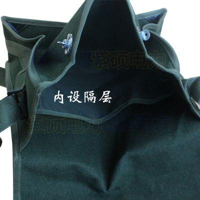 公司供应加厚帆布电工工具包工具袋五金维修包电工单肩包