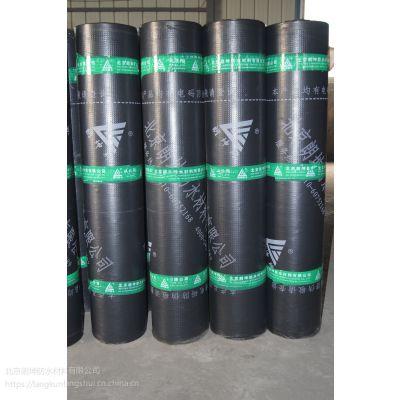 北京朗坤弹性体SBS改性沥青防水卷材3mm防水材料厚聚酯胎