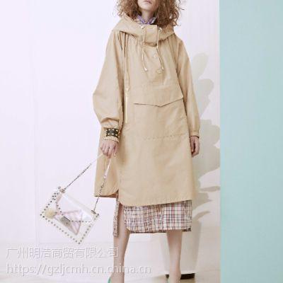 亮点国际品牌折扣女装潮牌连衣裙剪货源批发