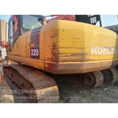 小松220-7二手挖掘机湖北武汉二手挖掘机转让中型挖机