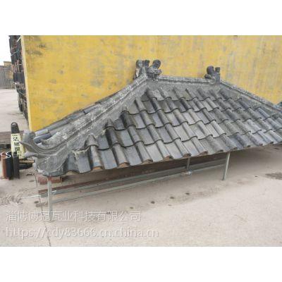 淄博琉璃瓦厂家销售批发高温防水环保陶瓷彩瓦。