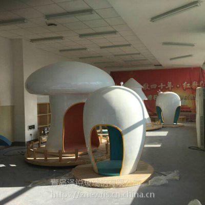 玻璃钢娱乐设备外壳加工 儿童乐园玻璃钢室内设施外壳