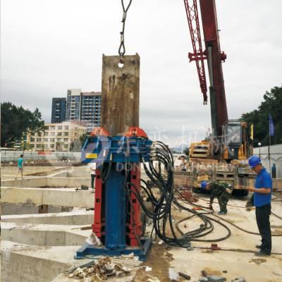 东奕机械PM300LS型H型钢拔桩机 建筑H型钢拔桩机械