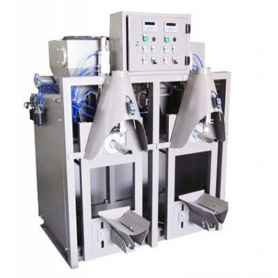双口气压式干粉砂浆包装机 上海广志封口双口包装设备 放心省心