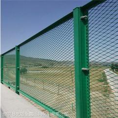 保山菱形网防抛网 立交桥桥梁防抛网 桥梁护栏网的作用
