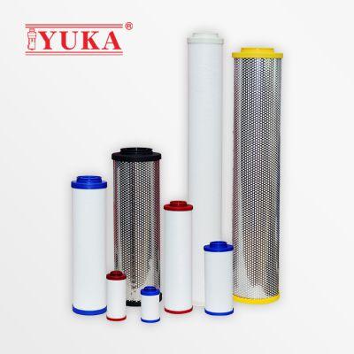 YUKA宏日嘉压缩空气过滤器滤芯除油除尘除杂质YF系列