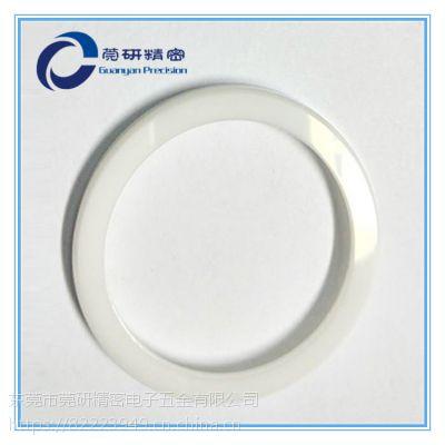 氧化锆陶瓷环镜面研磨抛光加工 平面研磨抛光加工 合金镜面研磨抛光加工