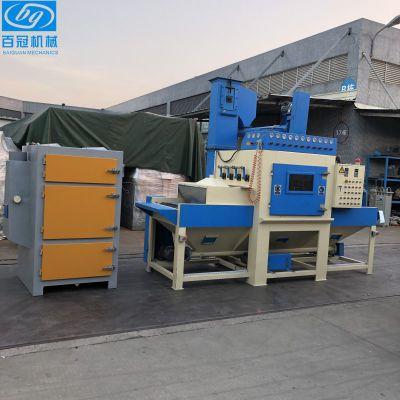 提升式自动喷砂机 铁板去油除锈专用喷砂机 环保液体喷砂机