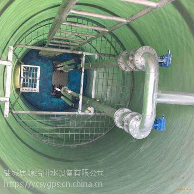 秦皇岛一体化污水提升泵站污水处理设备