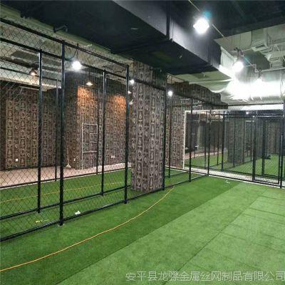 体育场围栏网 篮球场围栏网 隔离网立柱基础