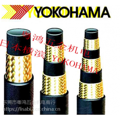 YOKOHAMA高压油管 EN853-1 SN/SAE100R1AT 1/4扣压总成