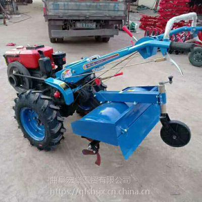 大棚果园松土犁地旋耕机 小型农用耕地机