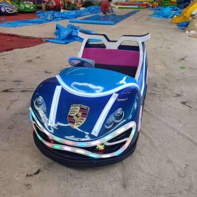 室外双人炫彩坦克碰碰车游乐设施厂家直销双方向盘飞机坦克电瓶车玩具车