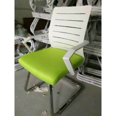 厂家直销 电脑椅 办公椅子 靠背网布弓形 职员椅现代简约办公椅子