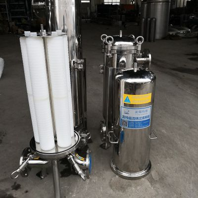 供应不锈钢袋式过滤机 精密滤芯过滤器