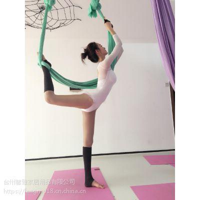 厂家直销空中瑜伽吊床瑜伽馆专用瑜伽吊床弹力布无缝拼接瑜伽吊床
