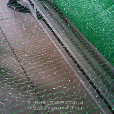 黑色料场覆盖网 户外空地防尘网 两针盖土网现货
