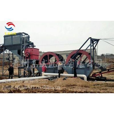 株洲山沙破碎洗砂设备不同工况产量及配置不同